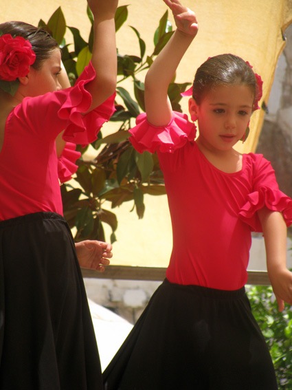 Flamenco-girls